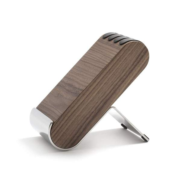 Robert Welch Signature Q Knife Block in Walnut. Gift boxed, Lifetime Guarantee.