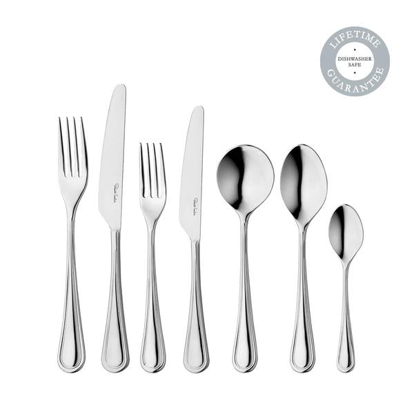Robert Welch Stratford Bright 56 Piece Cutlery Set for 8 People, Special Promotion Price, Limited Stock