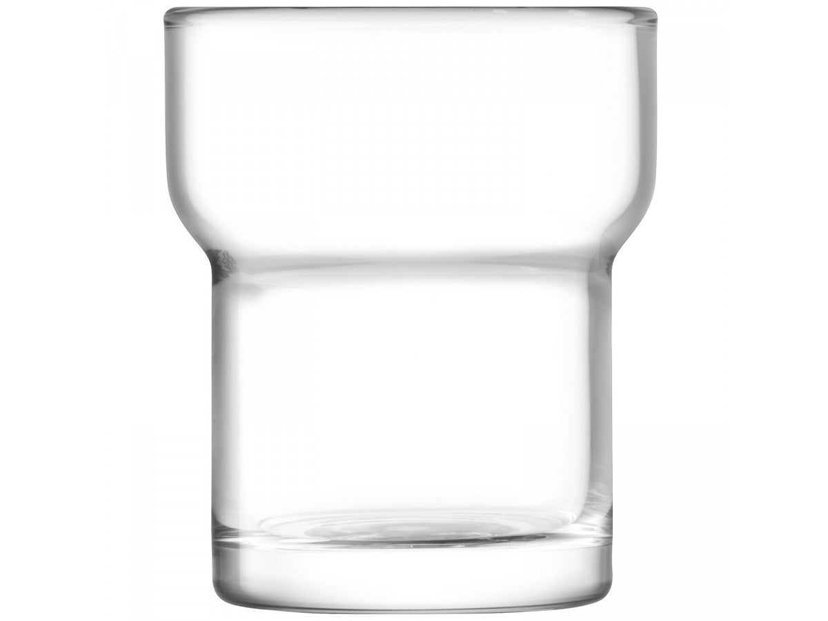 LSA Utility Tumbler Glasses 300ml in Clear Set of 2 Gift Boxed