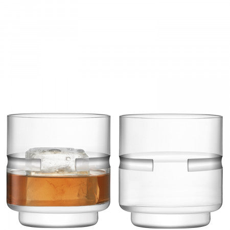 LSA Horizon Tumbler 350ml Set of 2 Glasses Gift Boxed