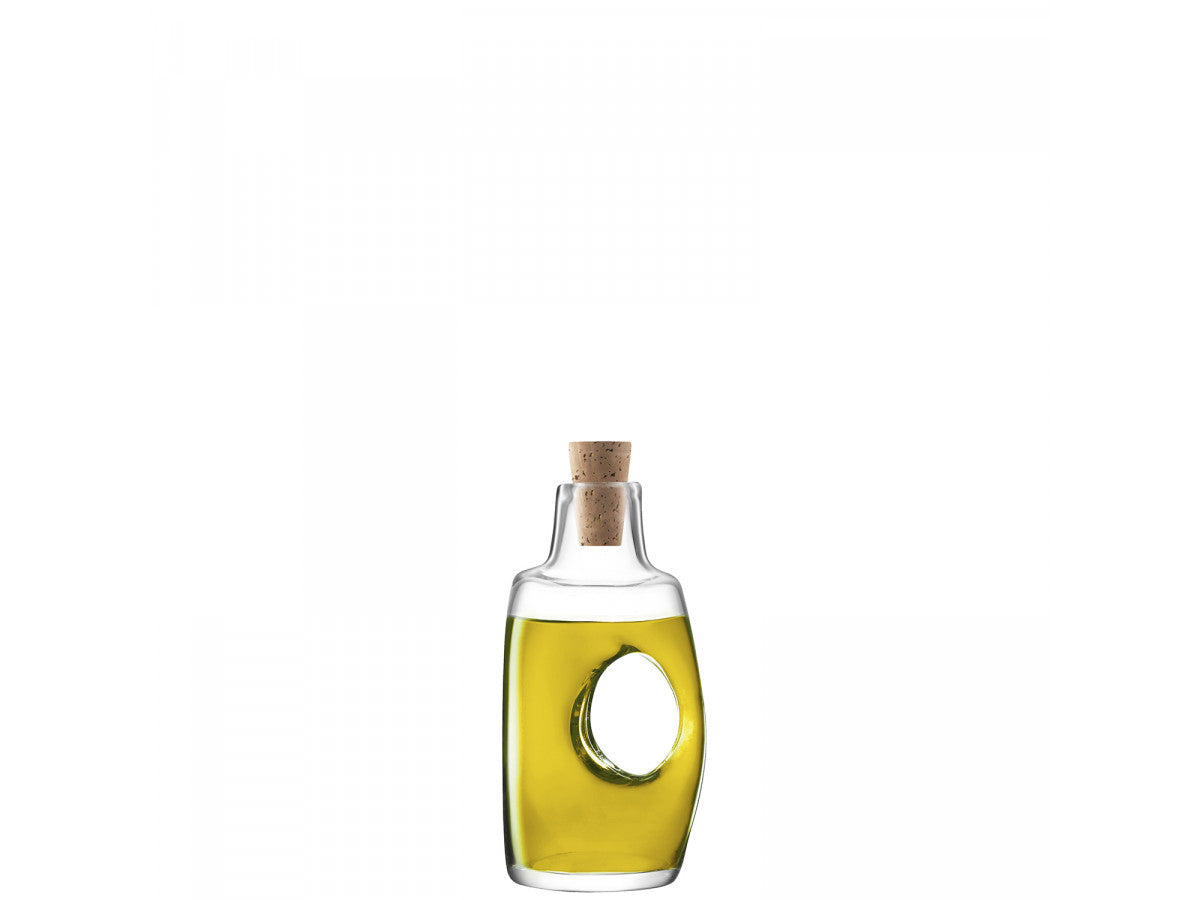 LSA Void Oil/Vinegar Bottle and Cork Stopper 120ml Gift Boxed