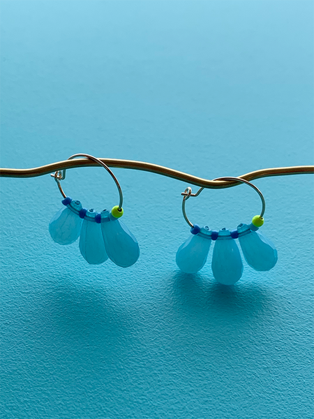 GUDRUN earrings RAINDROPS