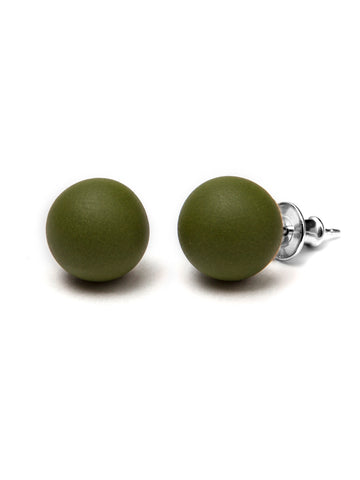 Pirouette Earrings Olives