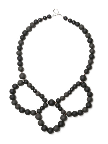 Pirouette Necklace Coal