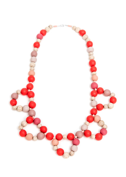 Pirouette Kids Necklace Red