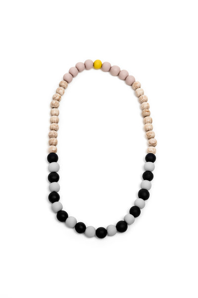 Randalína Kids Necklace Navy Blue & Light Grey