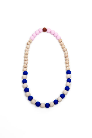 Randalína Kids Necklace Blue & White