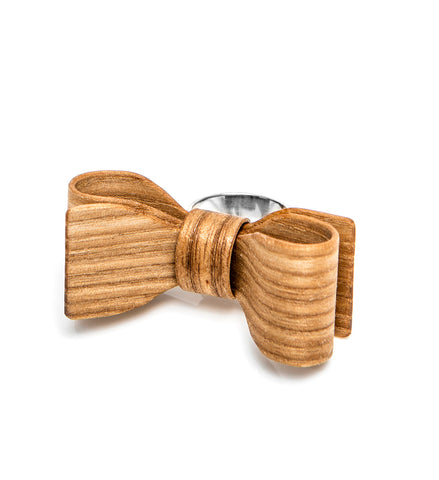 Wooden bow ring