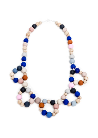 Pirouette Kids Necklace Blue
