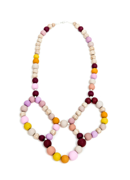 Pirouette Kids Necklace Pink