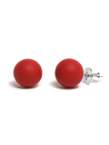 Pirouette Earrings Indian red