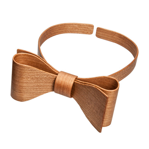 Wooden bow tie Cherry Wood