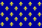 Drapeau royal France