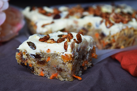 Simple Paleo Carrot Cake