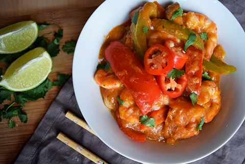 Super Healthy Thai Red Chicken Curry Recipe