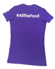I002 Women's D2E #AllTheFood T-Shirt | IronRocks Apparel