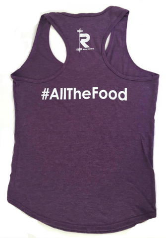 I003 UniSex D2E #AllTheFood Gym Vest | IronRocks Apparel