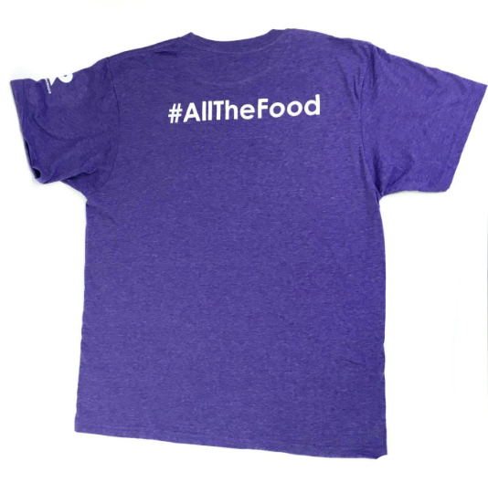 I001 Men's D2E #AllTheFood T-Shirt | IronRocks Apparel