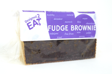 Designed2Eat Chocolate Fudge Brownie
