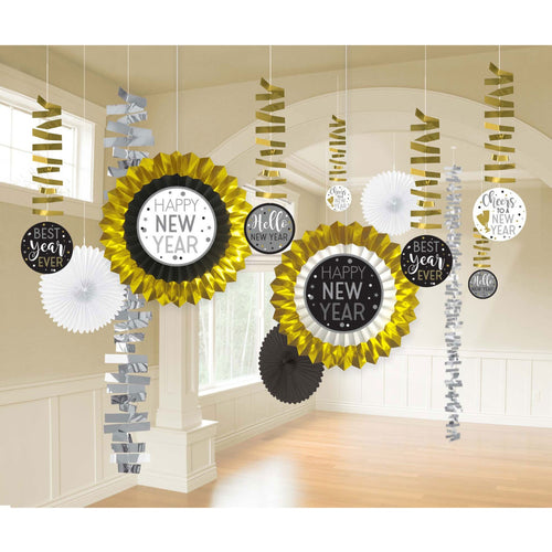 Decor New Year Decorating Kit Paper & Foil - mabrook.me