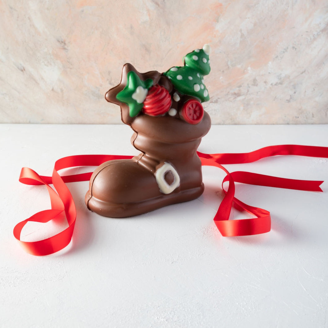 Chocolates Edible Santa Boot by NJD - mabrook.me