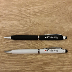 Pen Set of 2 UAE National Day Pens - Black & White - mabrook.me