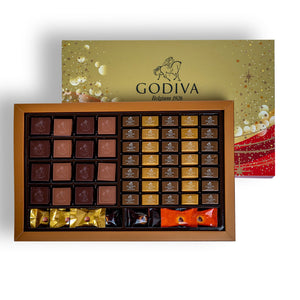 Chocolates Assorted Christmas Gift Box - 92 Pcs Premium Chocolates - mabrook.me