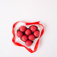 Load image into Gallery viewer, Chocolates Red in My Heart Truffles - 8 Pcs - mabrook.me