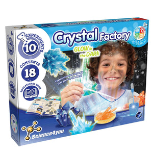 Crystal Factory - Glow in the Dark - mabrook.me
