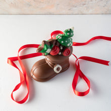 Load image into Gallery viewer, Chocolates Edible Santa Boot by NJD - mabrook.me