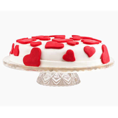Cake Hearts All Over Cake - mabrook.me