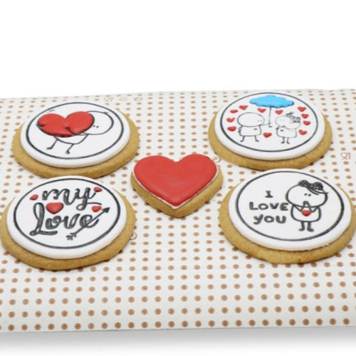 Cookies The Round Cookies - 5 Pcs - mabrook.me
