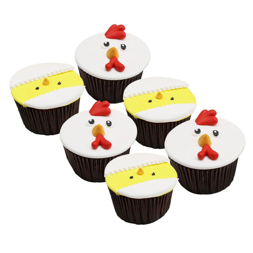 Cupcakes Chicks and Hens - Easter Cupcake - mabrook.me