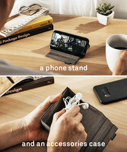 Load image into Gallery viewer, Accessories Pocket for Smartphone by UT Wire + 8 pcs Black Binditz - mabrook.me