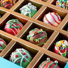 Load image into Gallery viewer, Chocolates 20pcs Christmas Truffles by NJD - mabrook.me
