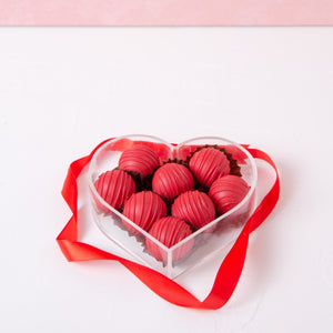 Chocolates Red in My Heart Truffles - 8 Pcs - mabrook.me