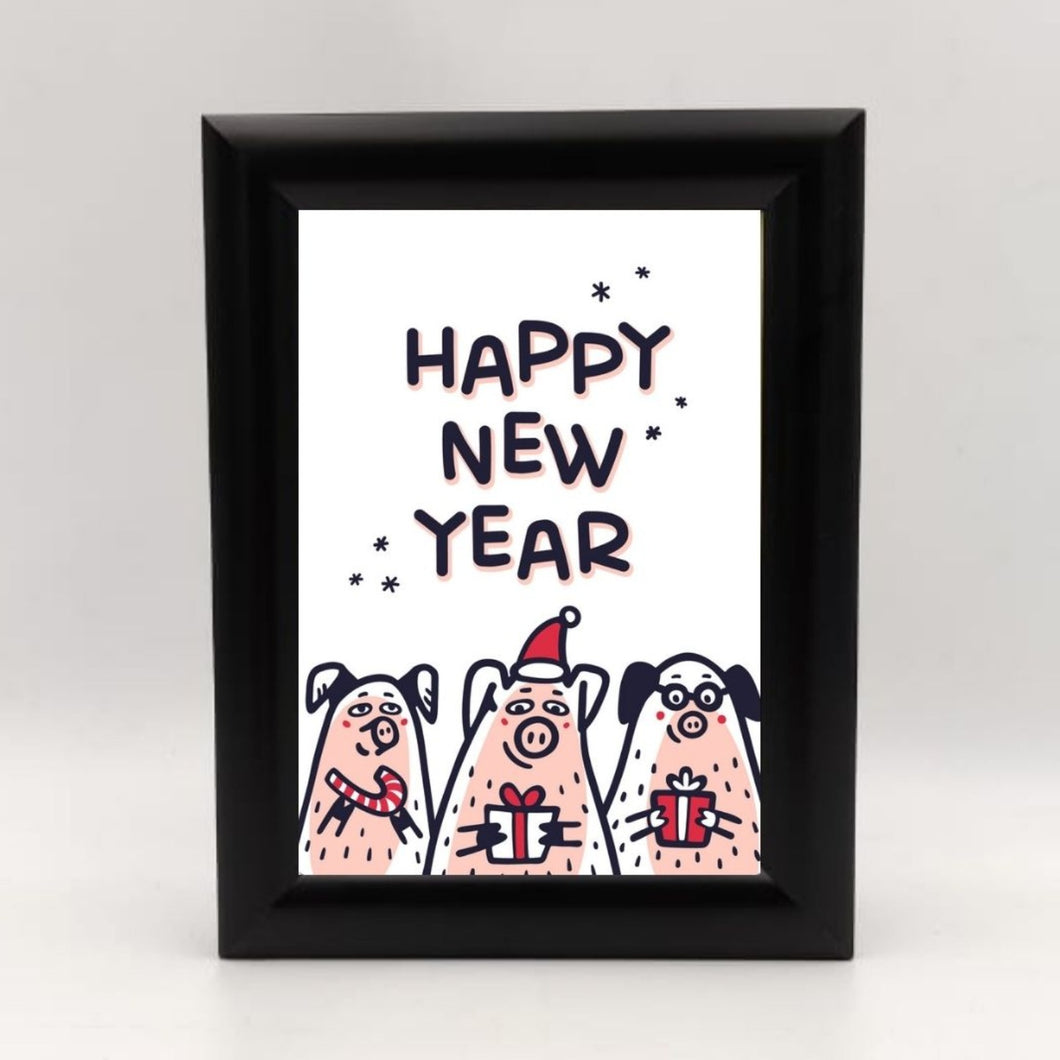 Frames New Year Framed Cartoon Greetings - mabrook.me