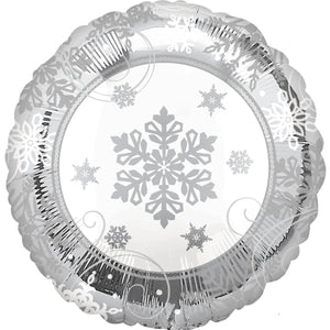 Accessories Sparkling Snowflake Foil Balloon 18in - mabrook.me