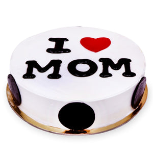 Cake Mother's Day Special - I Heart Mom Cake - mabrook.me