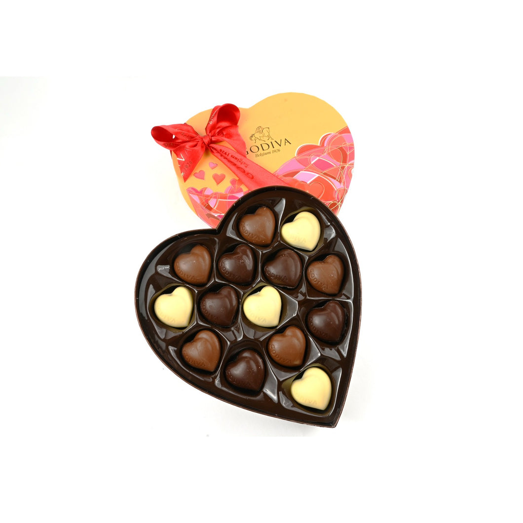 Chocolates Coeur Iconique by Godiva - 14 Pcs - mabrook.me