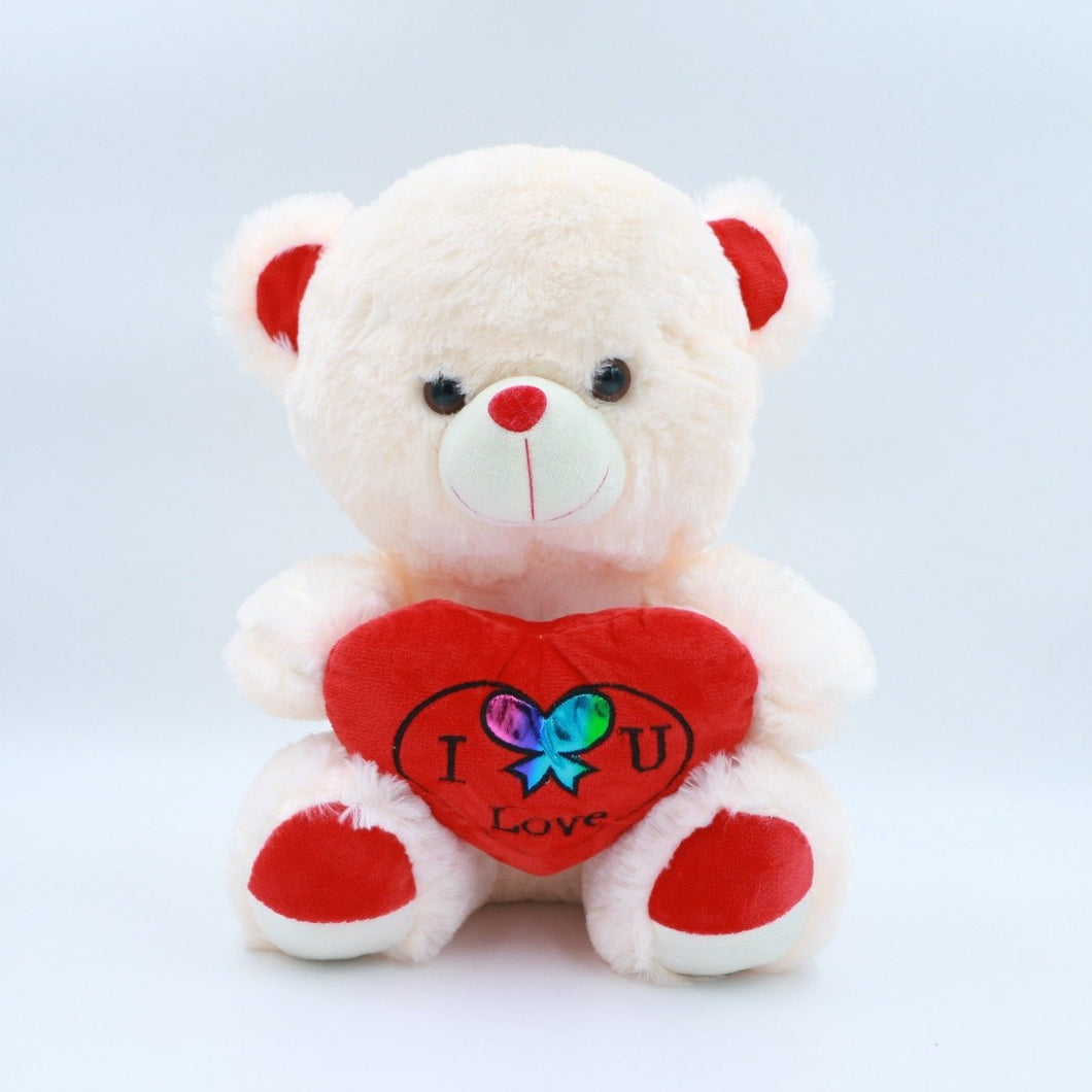 Teddy Bears Glittering Heart Teddy - mabrook.me