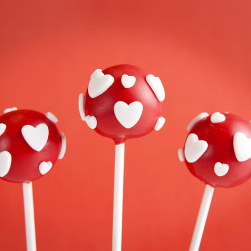 Cake Pops Heart to Heart Cake Pops - mabrook.me
