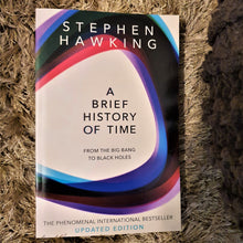 Load image into Gallery viewer, A Brief History of Time by Stephen Hawking (Updated Version) - mabrook.me