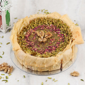 Baklava Cheesecake - mabrook.me