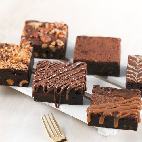Chocolate Brownies - Box of 6 - mabrook.me