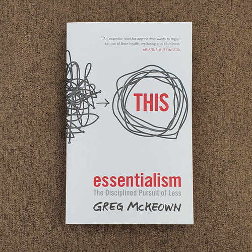 Book Essentialism by Greg McKeown - mabrook.me