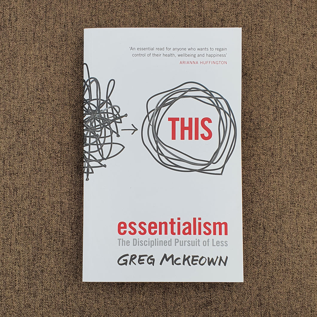 Essentialism by Greg McKeown - mabrook.me