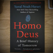 Load image into Gallery viewer, Homo Deus - A Brief History of Tomorrow by Yuval Noah Harari - mabrook.me