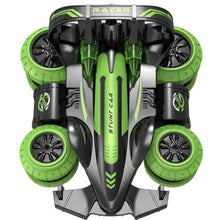 Load image into Gallery viewer, Toys RC Stunt Car with Tumbling Wheels - mabrook.me