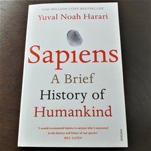 Load image into Gallery viewer, Book Sapiens - A Brief History of Humankind by Yuval Noah Harari - mabrook.me